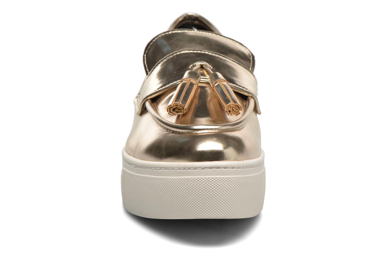 Slipper Aldo NARCISSA gold/bronze schuhe getragen
