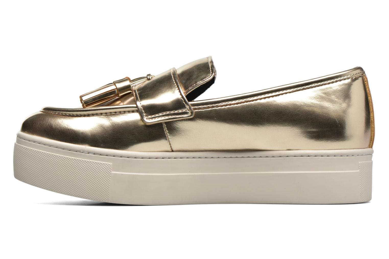 Loafers Aldo NARCISSA Guld og bronze se forfra