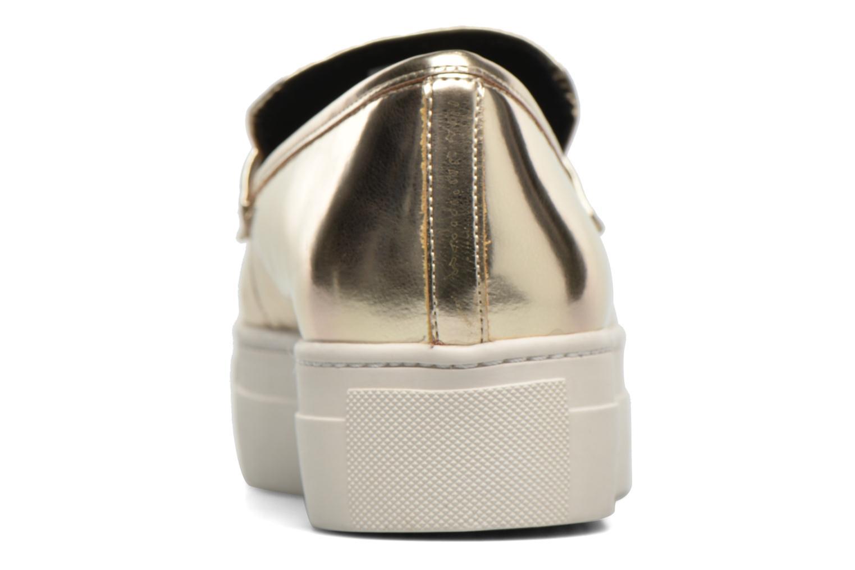 Loafers Aldo NARCISSA Guld og bronze Se fra højre