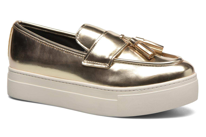 Loafers Aldo NARCISSA Guld og bronze detaljeret billede af skoene