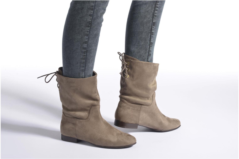 Bottines et boots Aldo THEANIEL Noir vue bas / vue portée sac