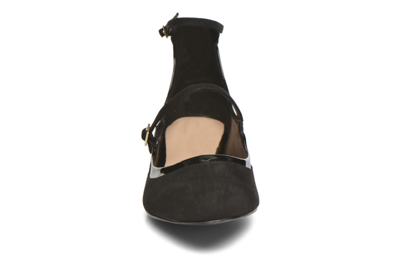 Ballerinaer Aldo AMBROSEA Sort se skoene på