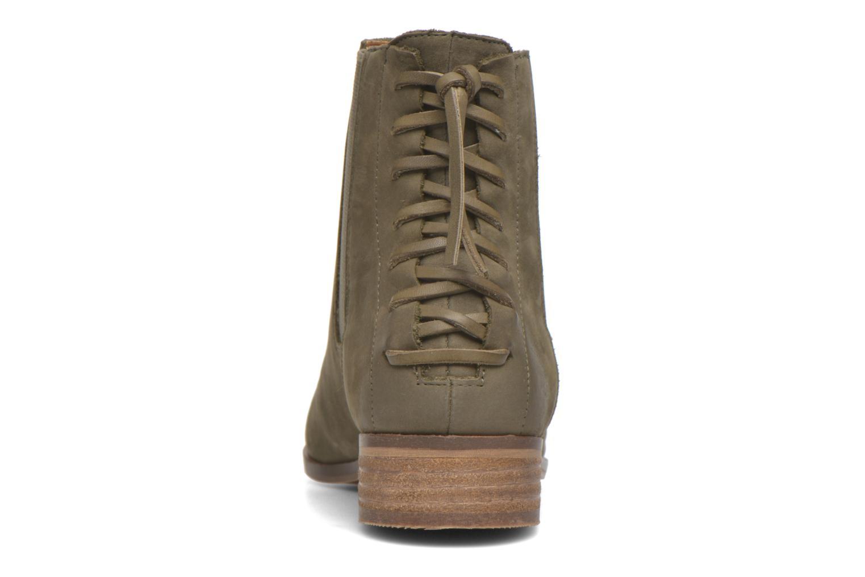 Bottines et boots Aldo BOUDINOT Vert vue droite