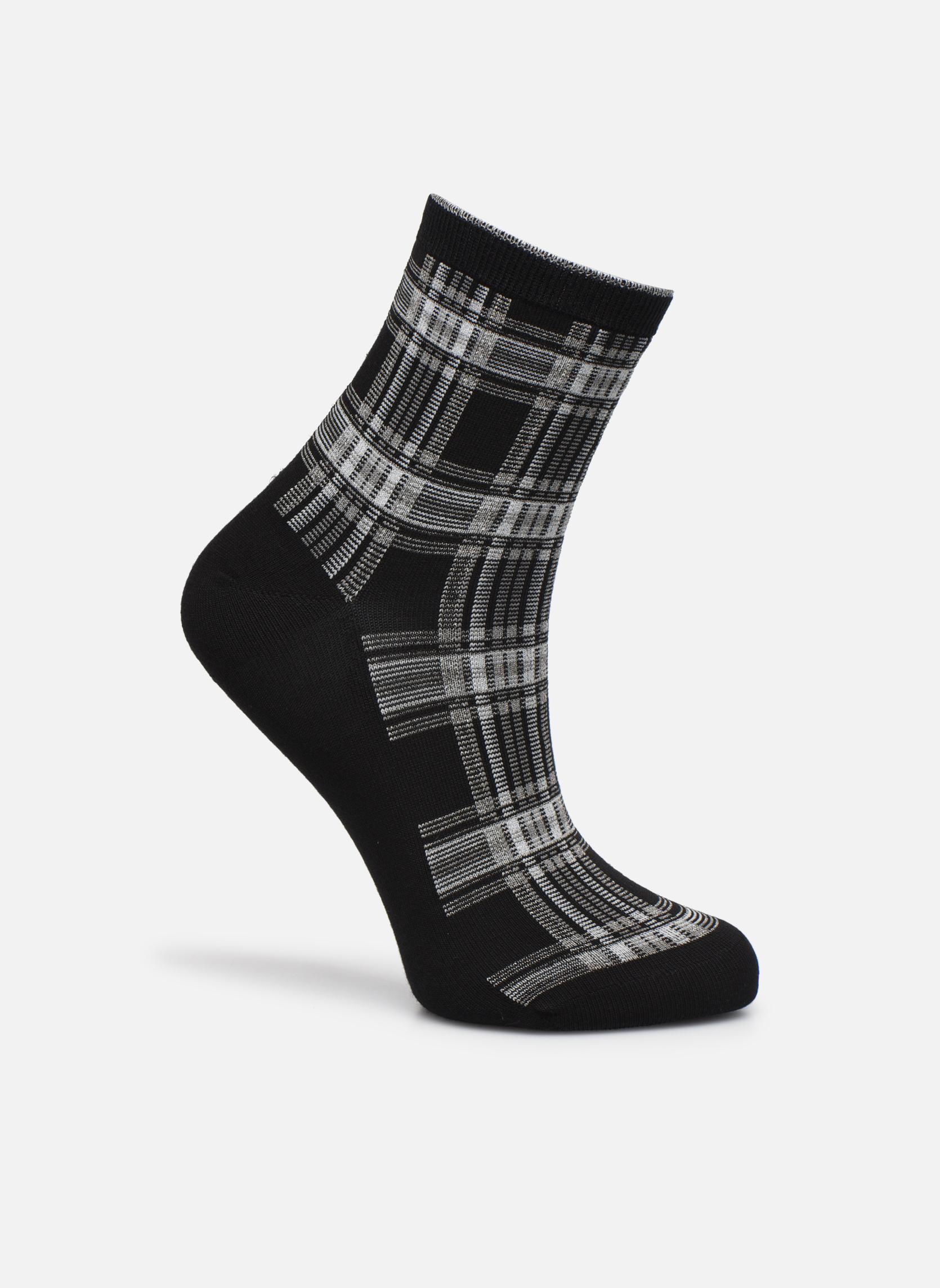 Chaussettes lurex femme coton