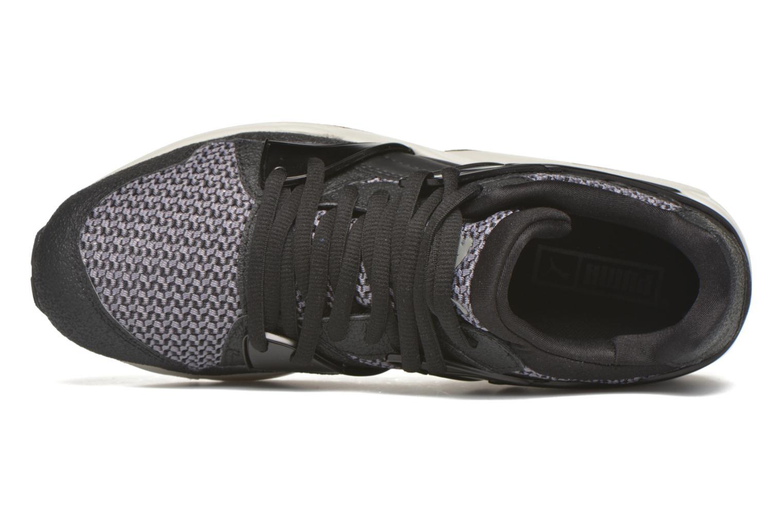 Baskets Puma Blaze knit Noir vue gauche