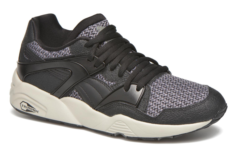 Baskets Puma Blaze knit Noir vue détail/paire