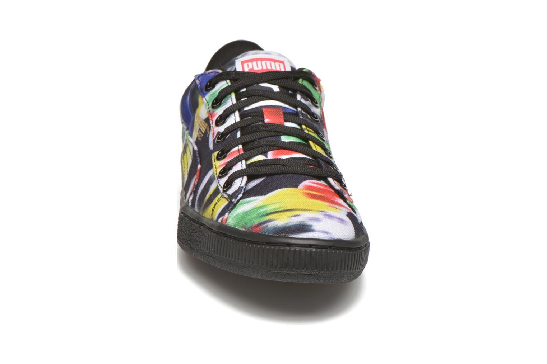 Baskets Puma Basket Classic cvs Blur Wn's Noir vue portées chaussures