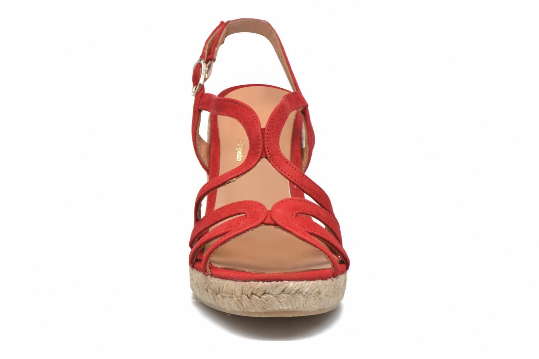 Sandales et nu-pieds Maypol Nopper Rouge vue portées chaussures