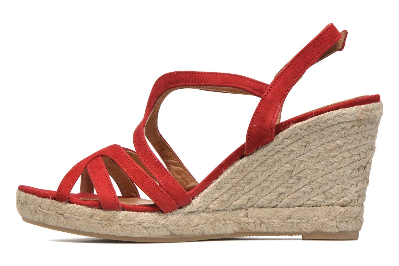 Sandales et nu-pieds Maypol Nopper Rouge vue face