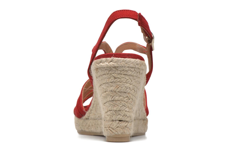 Sandales et nu-pieds Maypol Nopper Rouge vue droite