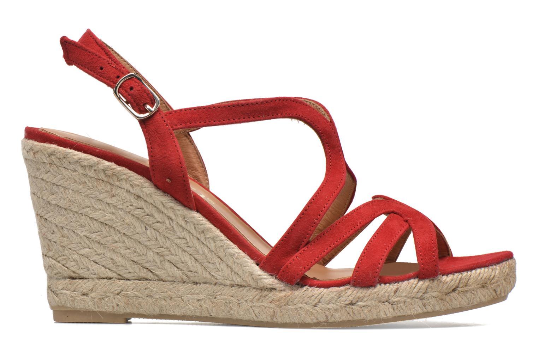 Sandales et nu-pieds Maypol Nopper Rouge vue derrière