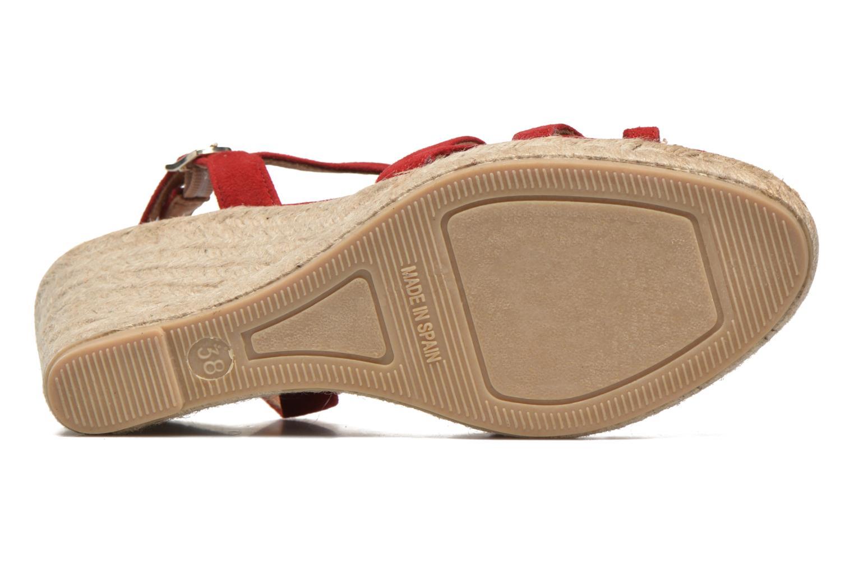Sandales et nu-pieds Maypol Nopper Rouge vue haut