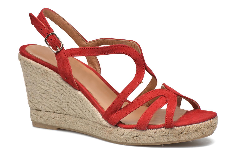Sandales et nu-pieds Maypol Nopper Rouge vue détail/paire