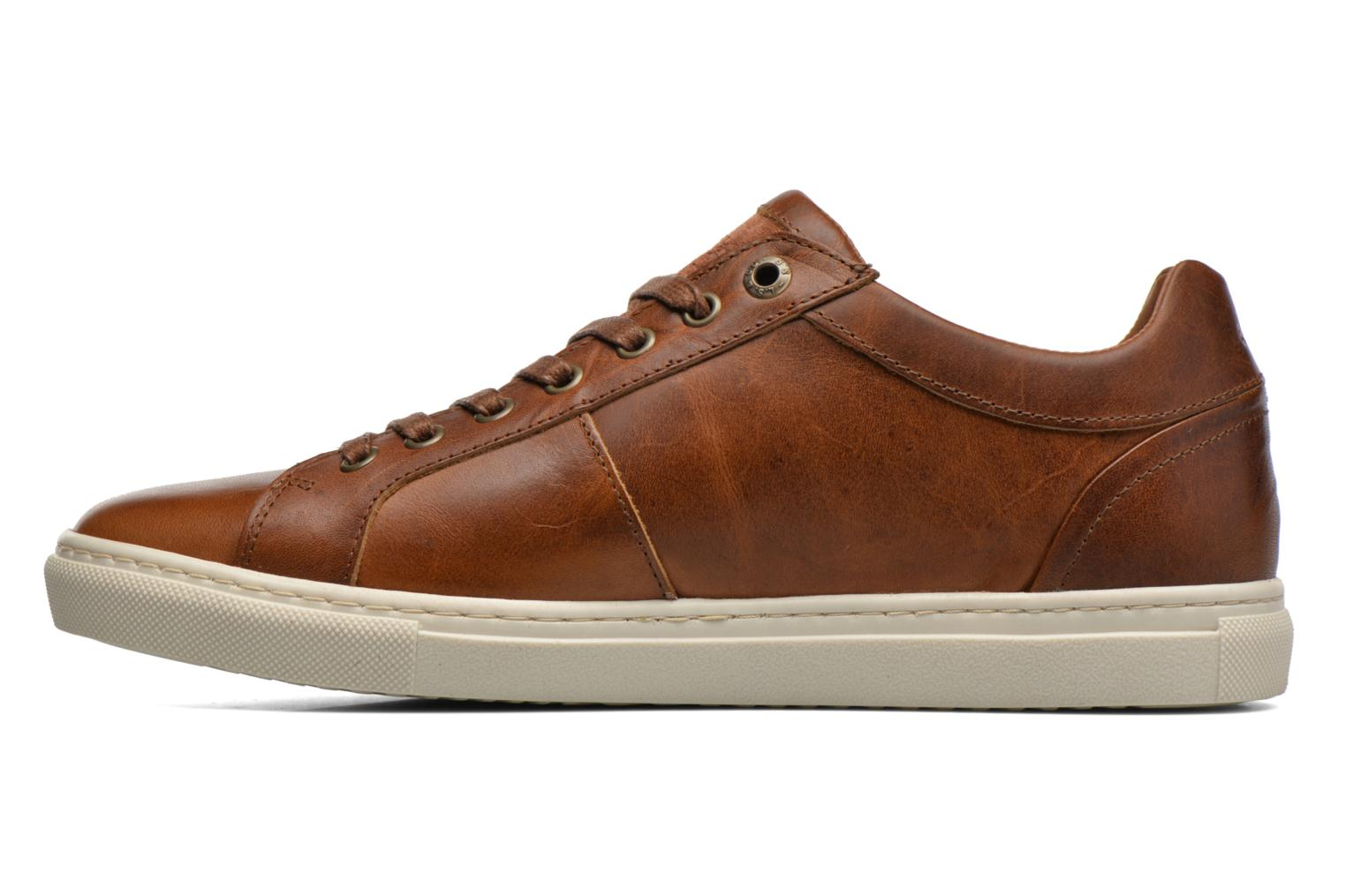 Sneakers Levi's Perris Derby Marrone immagine frontale