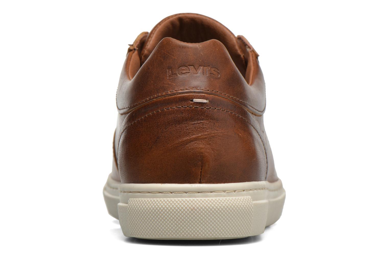 Sneakers Levi's Perris Derby Marrone immagine destra