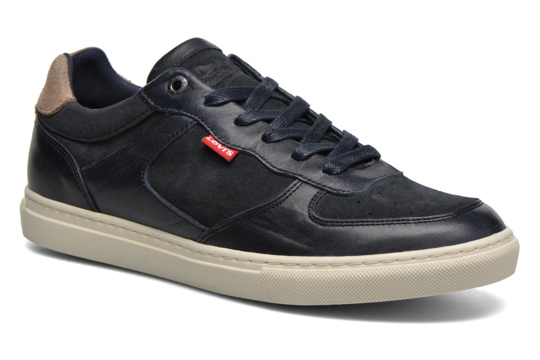 Sneakers Levi's Perris Oxford Blauw detail