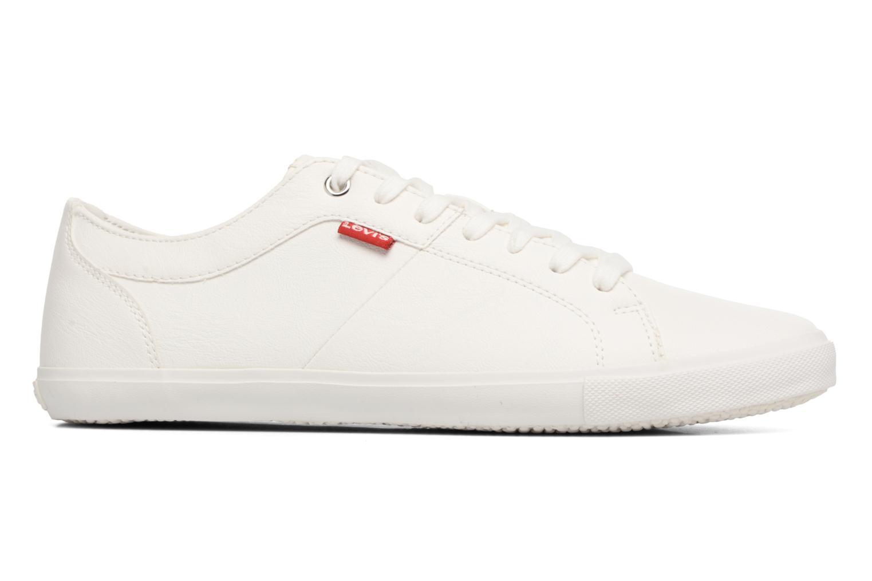 Sneakers Levi's Woods Wit achterkant