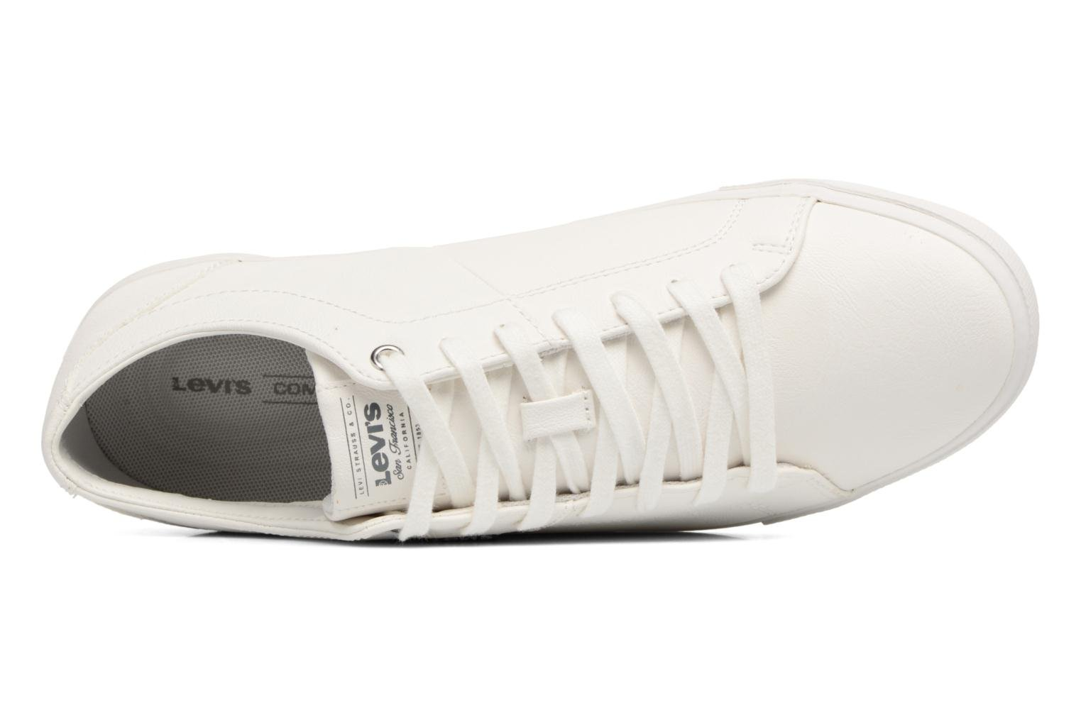 Sneakers Levi's Woods Bianco immagine sinistra