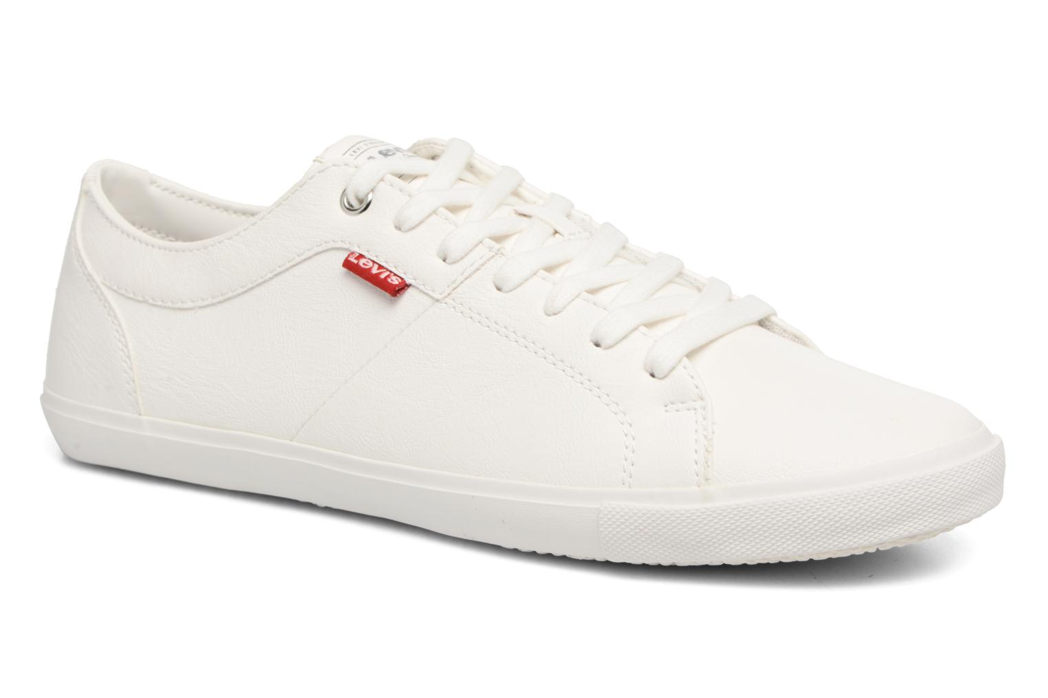 Trainers Levi's Woods White detailed view/ Pair view