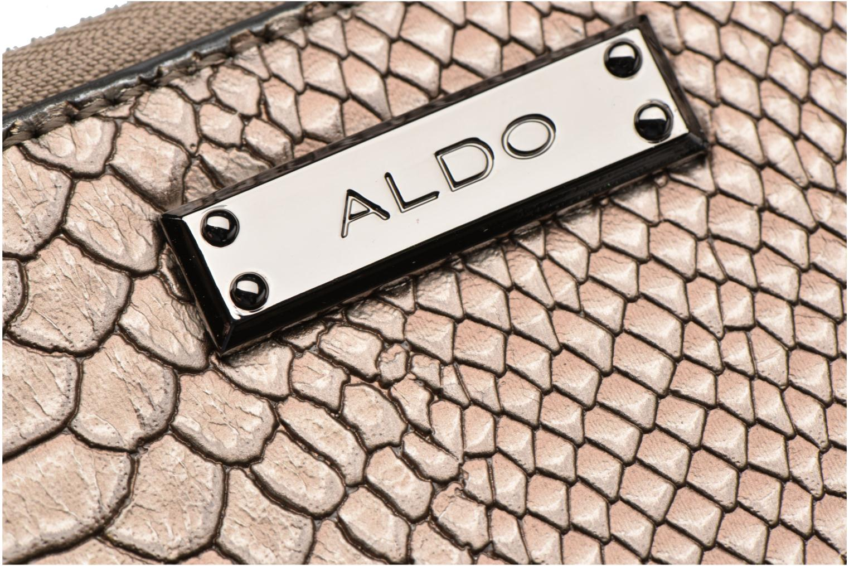 Petite Maroquinerie Aldo NOEDIA Or et bronze vue derrière