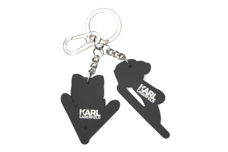 Ski Karl Choupette Porte-clés Black