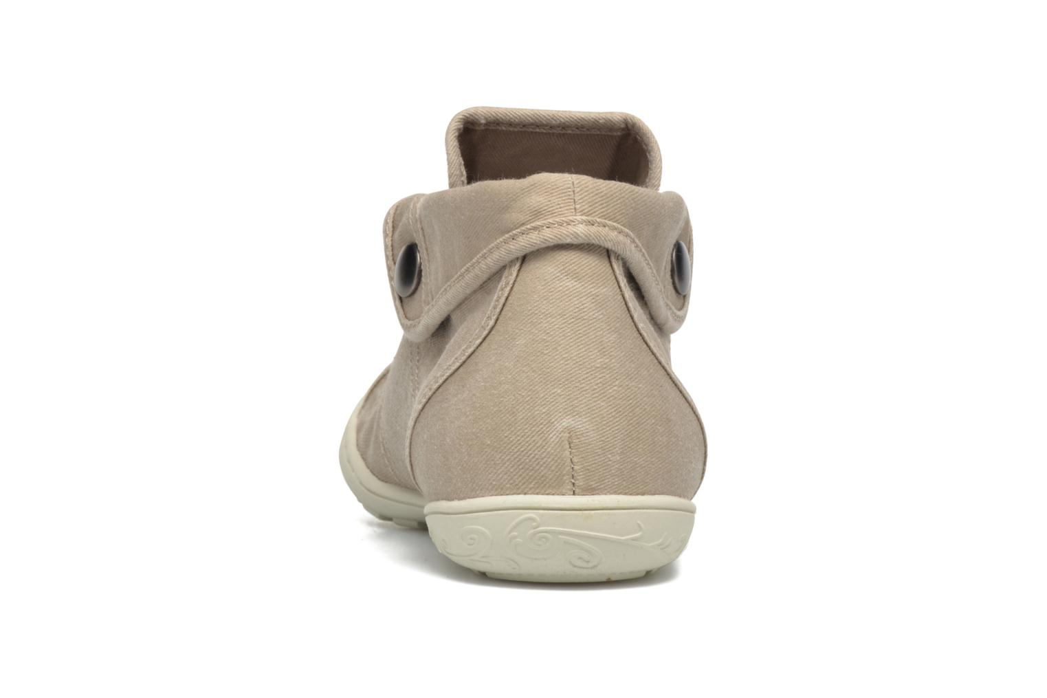 Trainers P-L-D-M By Palladium Gaetane Twl 2 Beige view from the right