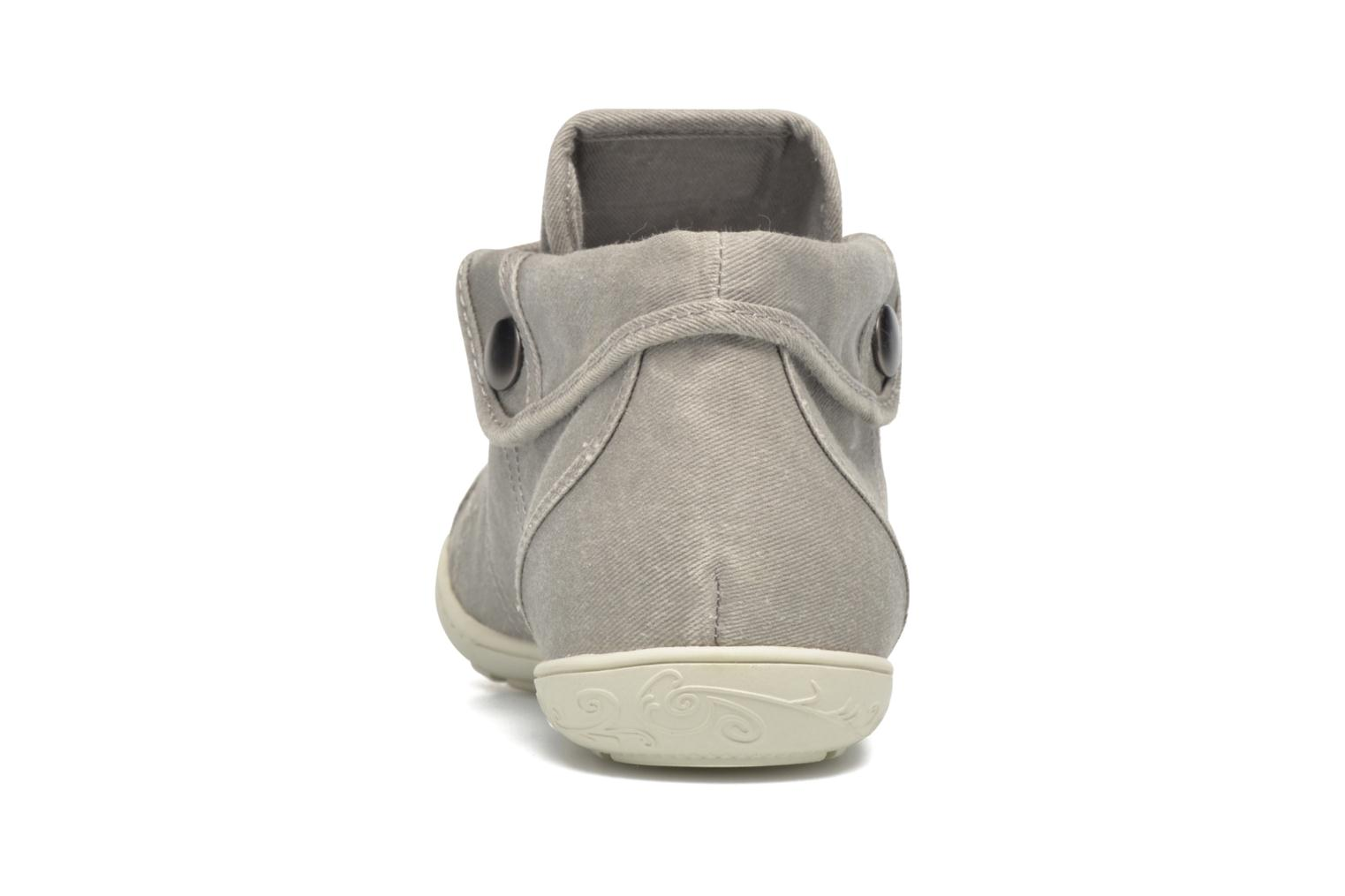 Trainers P-L-D-M By Palladium Gaetane Twl 2 Grey view from the right