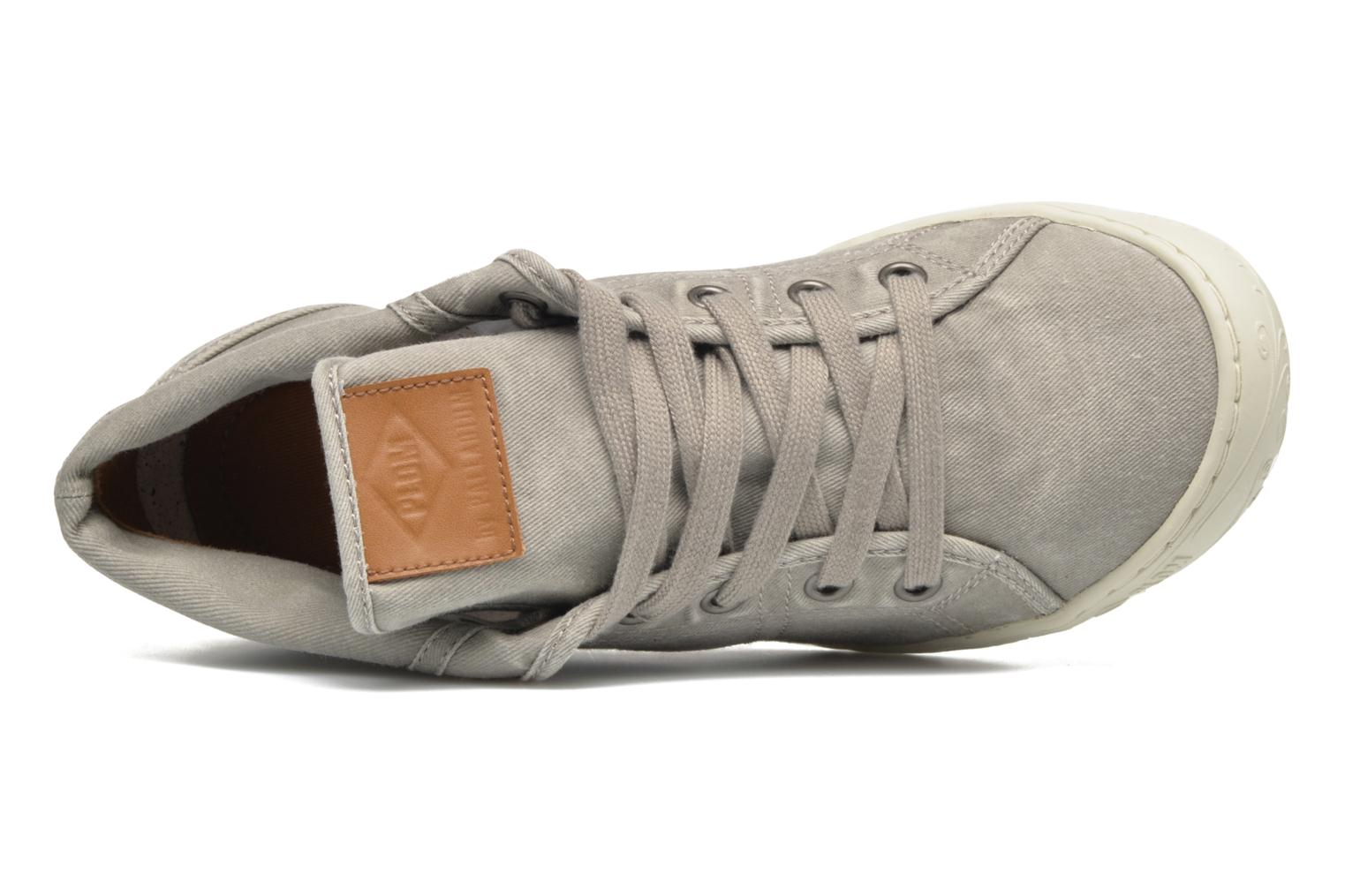 Trainers P-L-D-M By Palladium Gaetane Twl 2 Grey view from the left