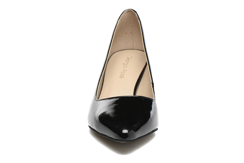 Zapatos de tacón Georgia Rose Galacy Negro vista del modelo