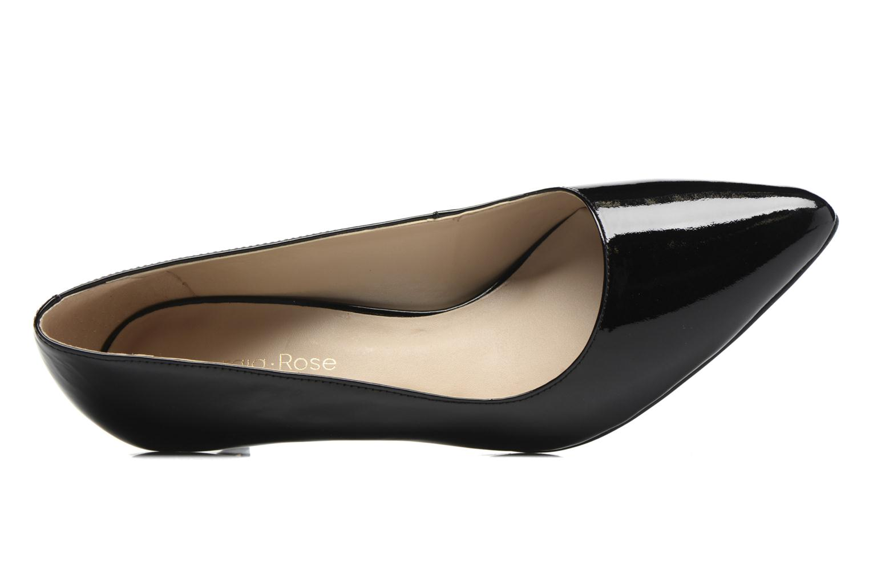 Zapatos de tacón Georgia Rose Galacy Negro vista lateral izquierda