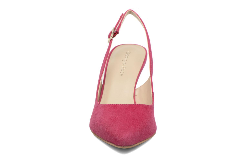 Zapatos de tacón Georgia Rose Gatouba Rosa vista del modelo