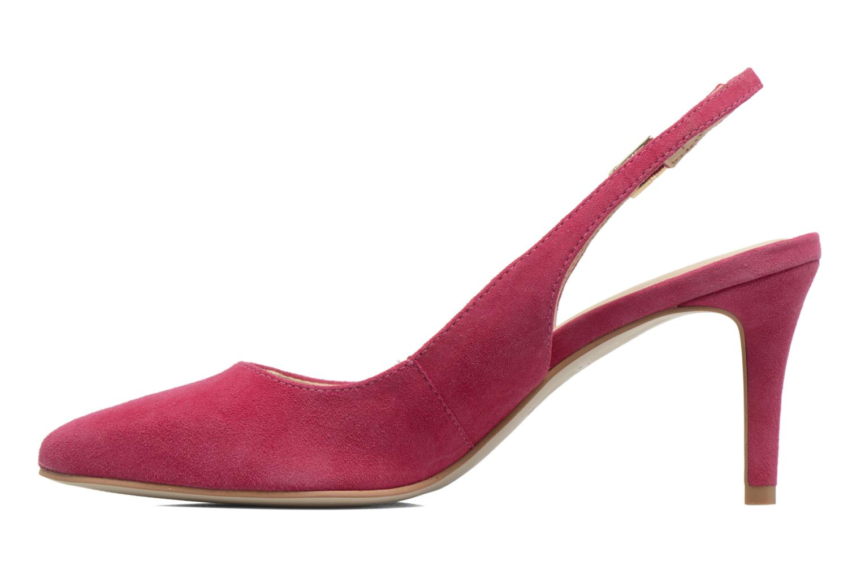 Zapatos de tacón Georgia Rose Gatouba Rosa vista de frente