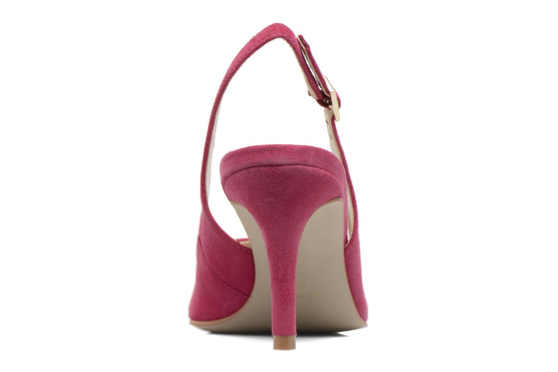 Zapatos de tacón Georgia Rose Gatouba Rosa vista lateral derecha