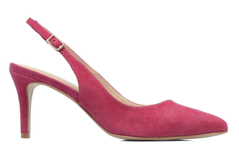 Zapatos de tacón Georgia Rose Gatouba Rosa vistra trasera