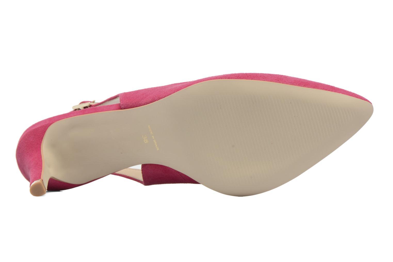 Zapatos de tacón Georgia Rose Gatouba Rosa vista de arriba