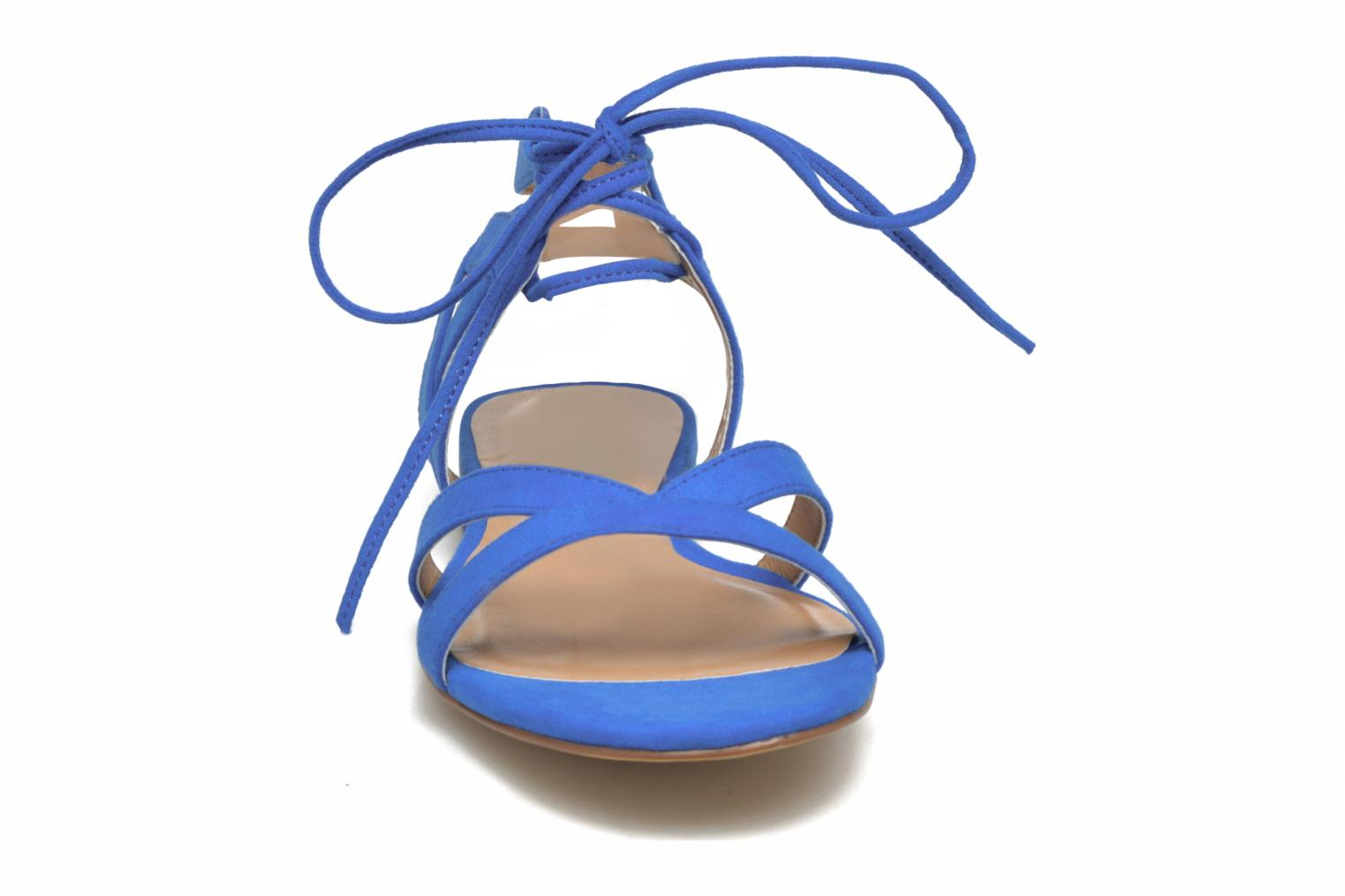 Sandalias I Love Shoes FELICE Azul vista del modelo