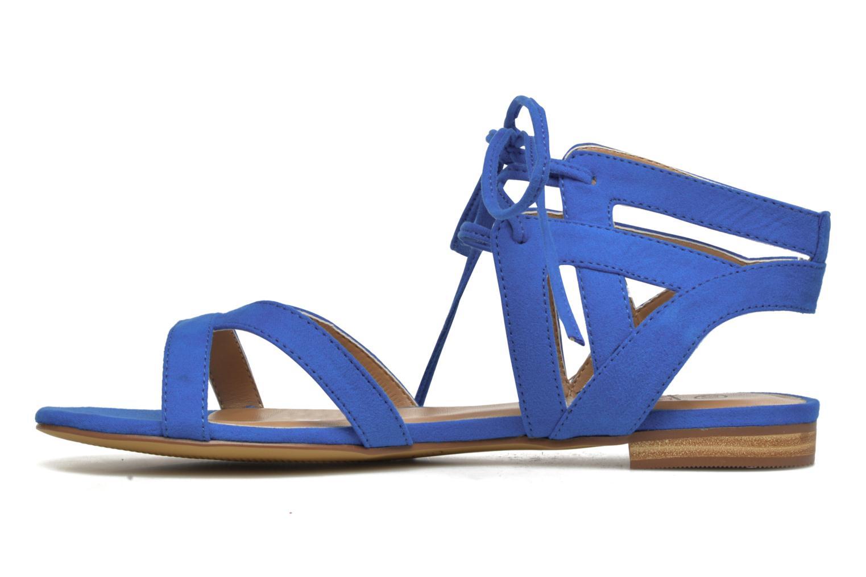 Sandalen I Love Shoes FELICE blau ansicht von vorne