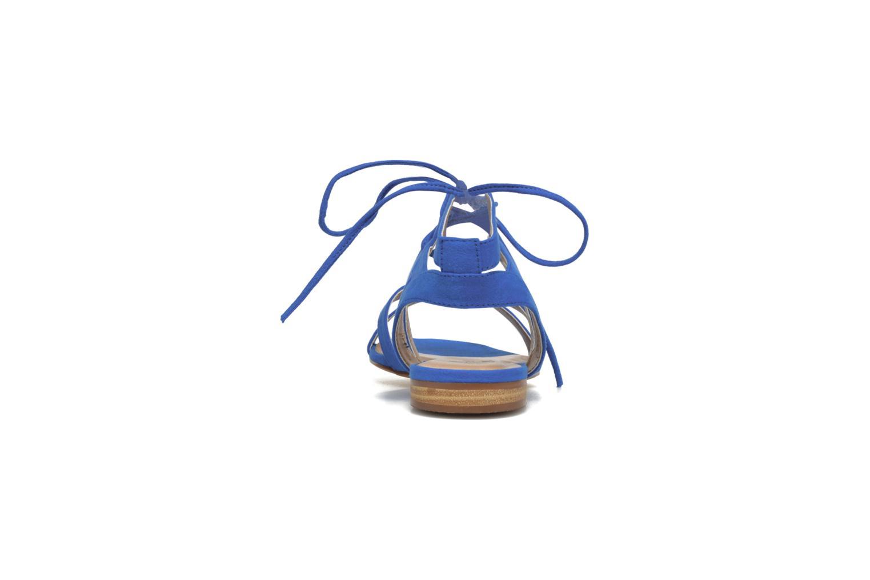 Sandalen I Love Shoes FELICE blau ansicht von rechts
