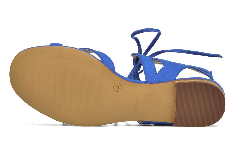 Sandalen I Love Shoes FELICE blau ansicht von oben