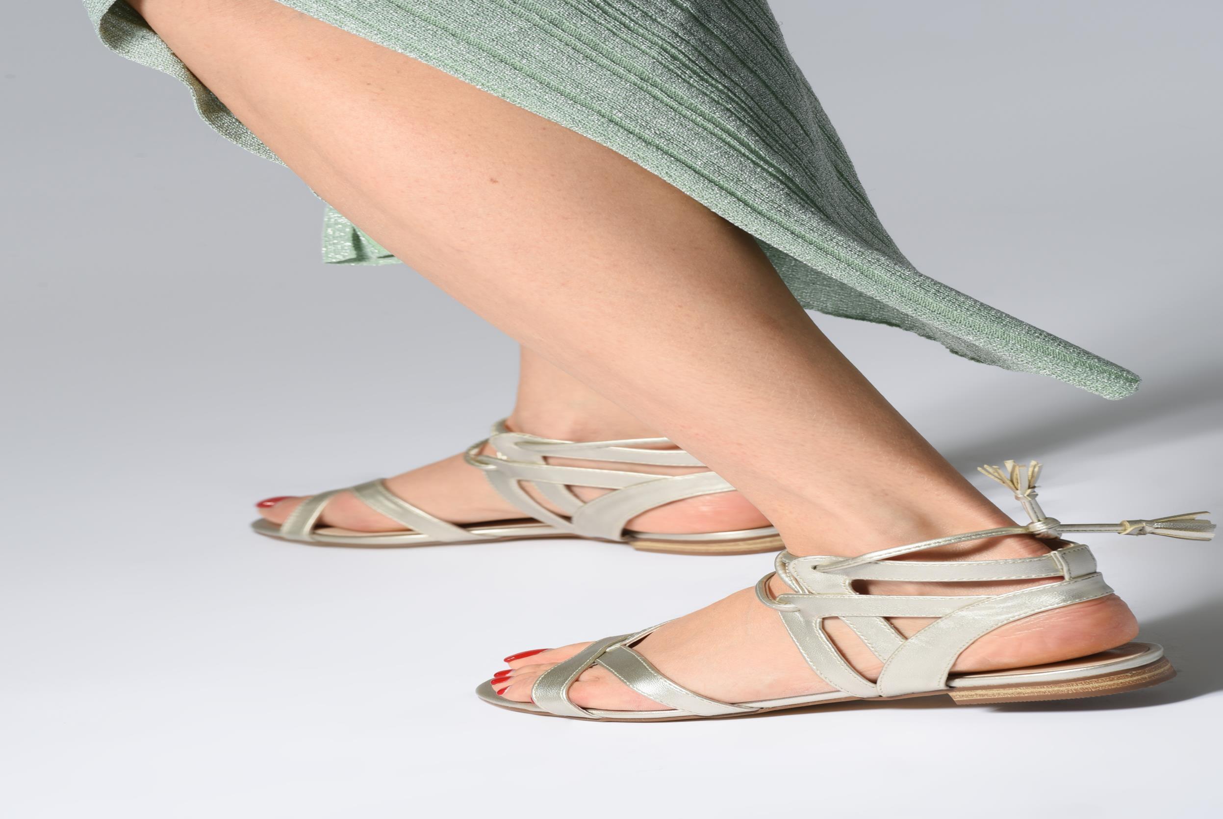 Sandali e scarpe aperte I Love Shoes FELICE Marrone immagine dal basso