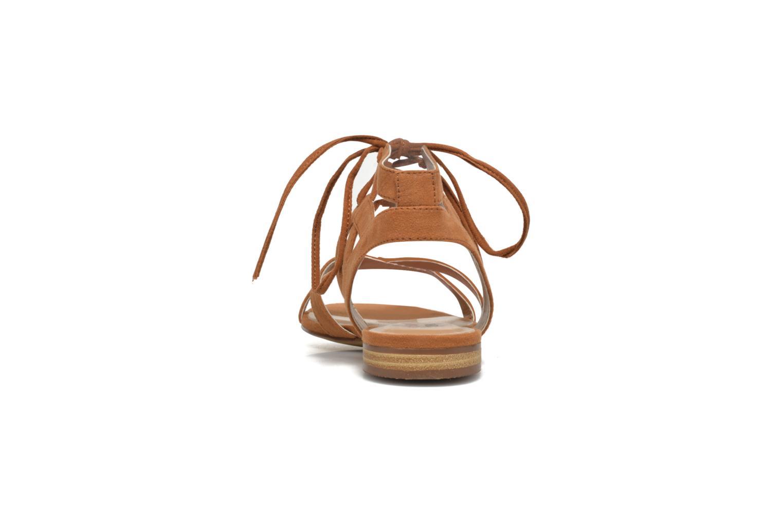 Sandales et nu-pieds I Love Shoes FELICE Marron vue droite