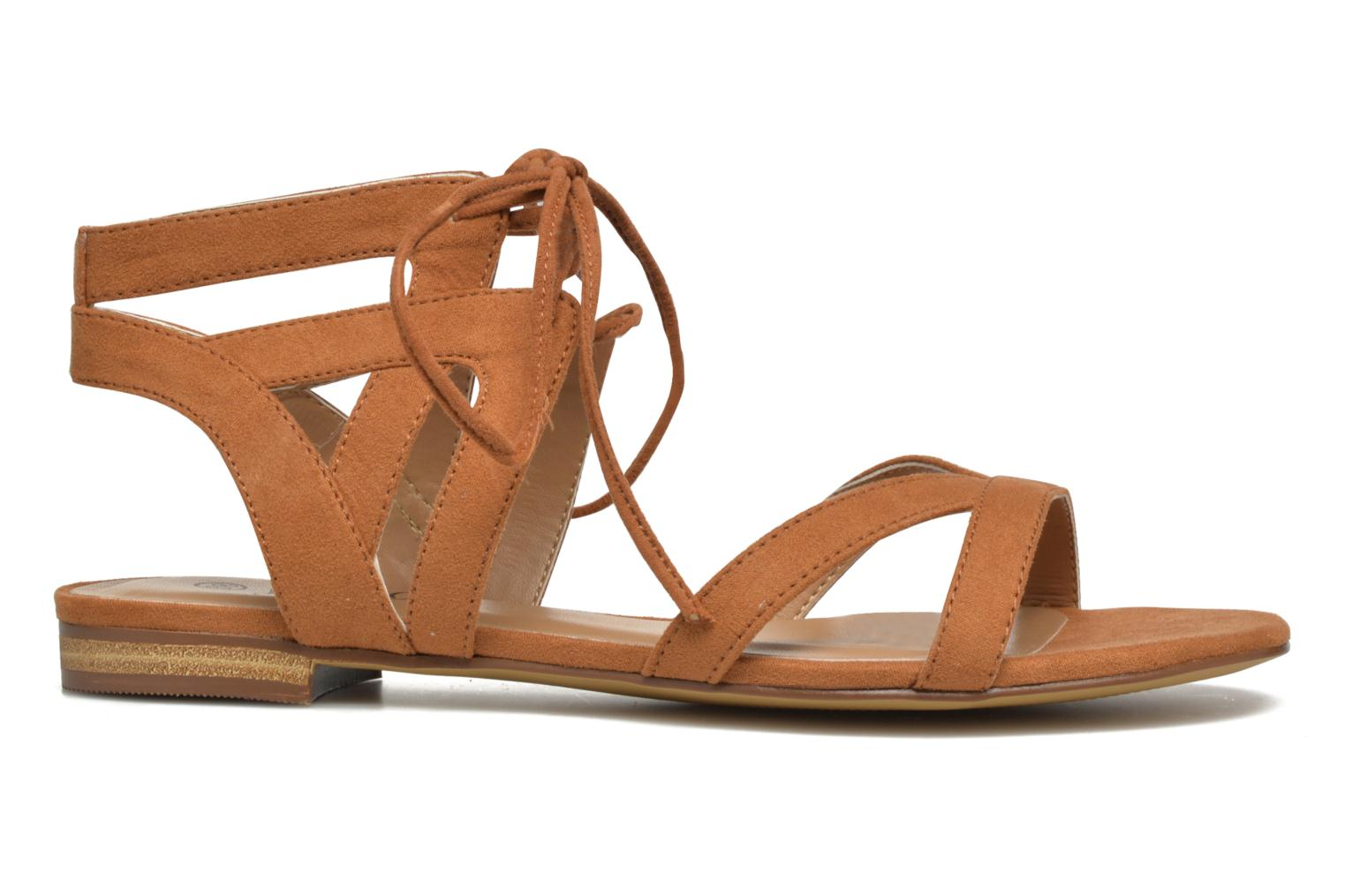 Sandals I Love Shoes FELICE Brown back view