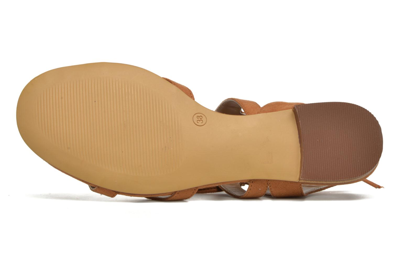 Sandals I Love Shoes FELICE Brown view from above