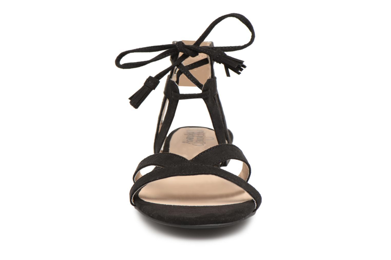 Sandali e scarpe aperte I Love Shoes FELICE Nero modello indossato
