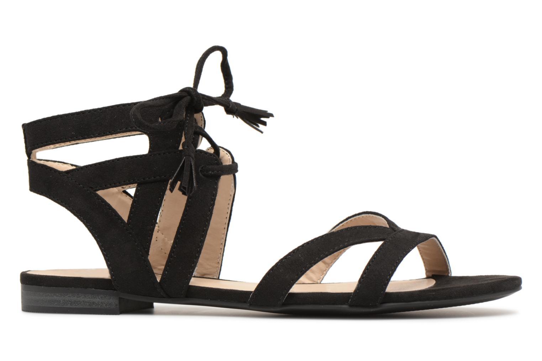 Sandales et nu-pieds I Love Shoes FELICE Noir vue derrière