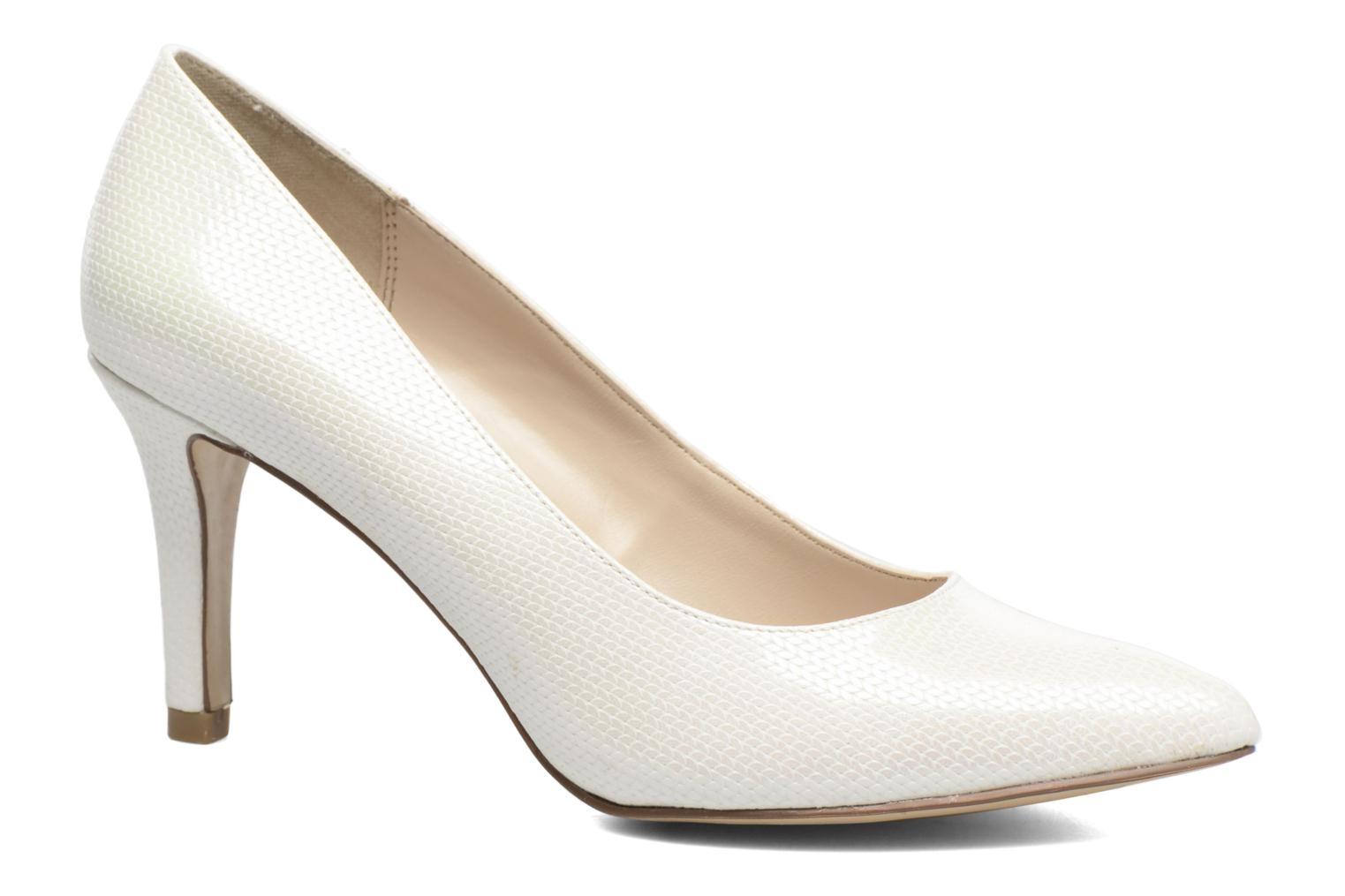 High heels I Love Shoes FIRONE White detailed view/ Pair view