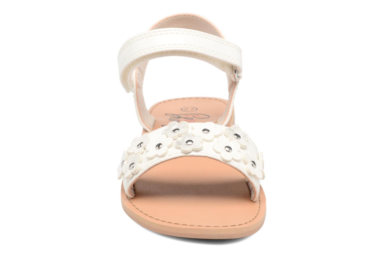 Sandales et nu-pieds I Love Shoes FAME Blanc vue portées chaussures