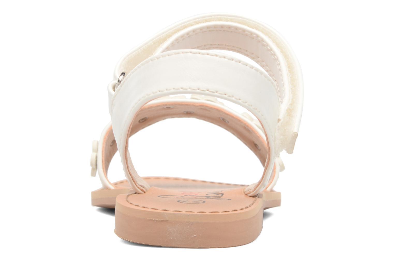 Sandales et nu-pieds I Love Shoes FAME Blanc vue droite