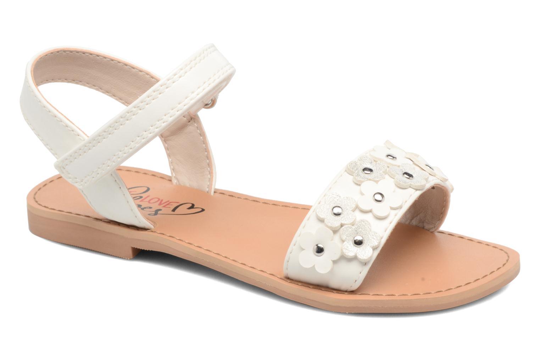 Sandales et nu-pieds I Love Shoes FAME Blanc vue détail/paire