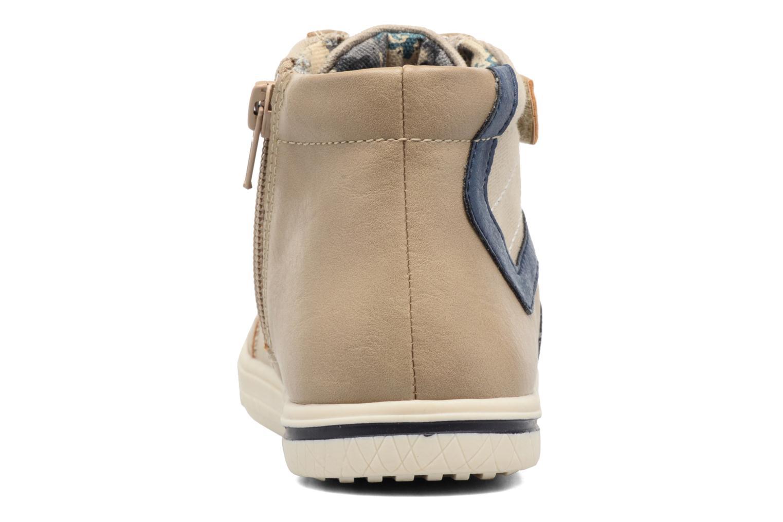Deportivas I Love Shoes FELIX Beige vista lateral derecha
